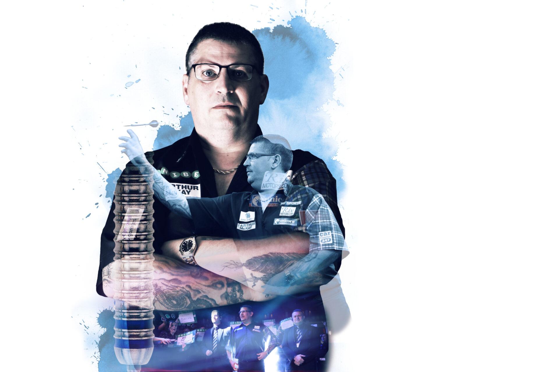 Gary Anderson Dartspieler