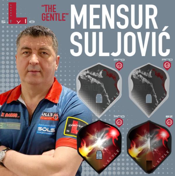 Mensur Suljovic Flights